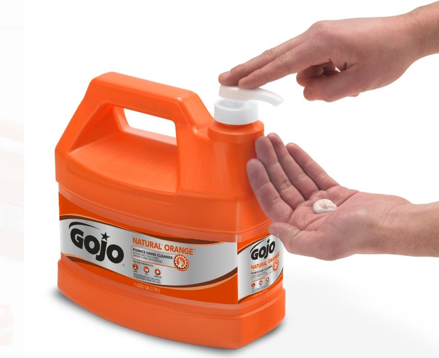 Walmart.com – Gojo Natural Orange Pumice Heavy Duty Hand Cleaner Only $9.99, Reg $14.99 + Free Shipping!