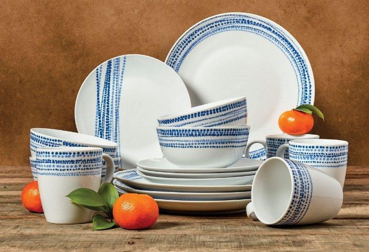 Macy's.com – 16-Pc Tabletop Unlimited Aaron Dinnerware Set Only $18.74, Reg $70!