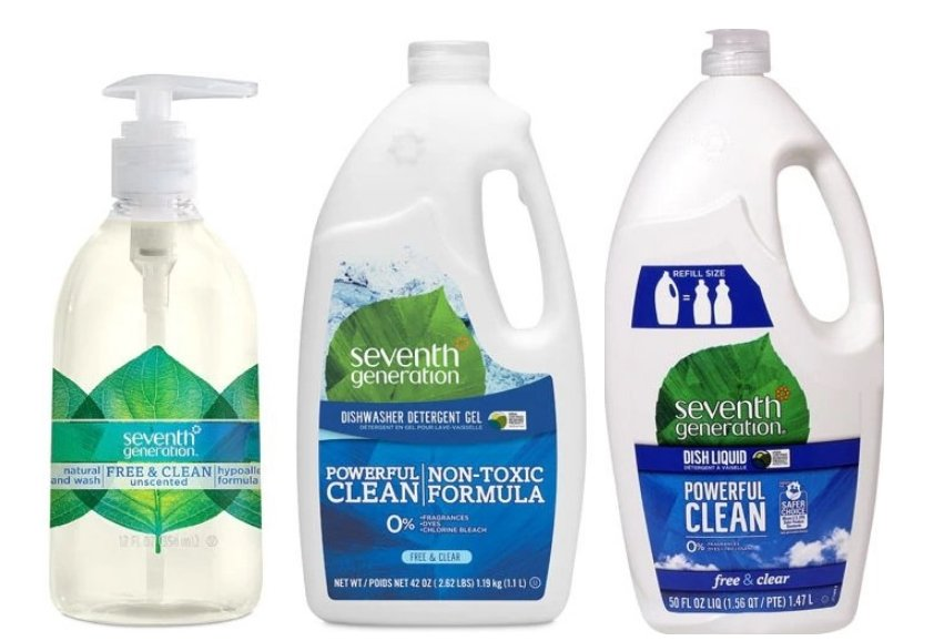 Vitacost.com – Save Up To 40% off Select Seventh Generation Cleaners