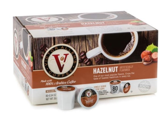 BigLot.com – Save an Additional 20% Off your Entire Purchase! Victor Allen Hazelnut 80-Pack K-Cups Only $16.90, Reg $24.99 + Free Curbside Pickup!