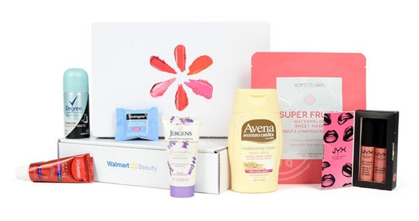 Free Walmart Seasonal Beauty Box (Just Pay $5 Shipping)