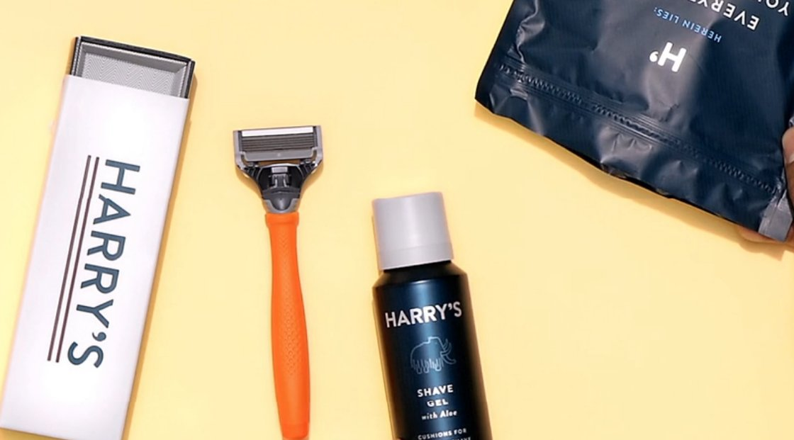 FREE Trial Set of Razors and Shave Gel From HARRY'S. Just Pay $3 For Shipping!