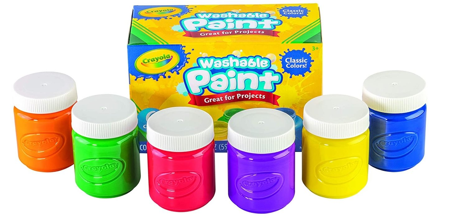Crayola Washable Kids Paint, 6 Count Only 7.67, Reg $14.00!