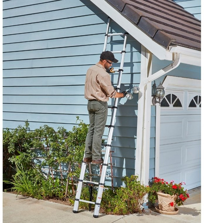 Harbor Freight – 20% Off One Select Item With Code! Franklin Portable 14 Ft. Telescoping Ladder Only $111.99, Reg $139.99!