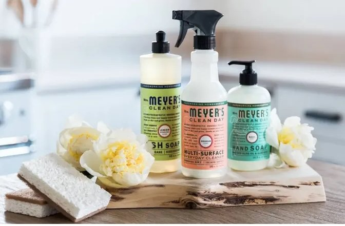 Mrs. Meyer's Cleaning Gift Set for FREE with Your 1st Purchase of $30 Or More + Free Shipping!