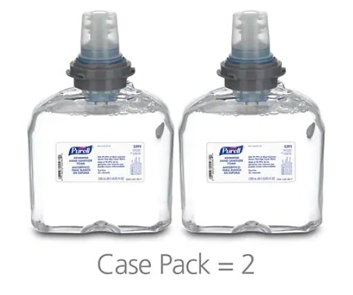 PURELL 2/Cartons of 1200 ML Advanced Foaming Hand Sanitizer Refill Only $87.69 + Free Shipping!