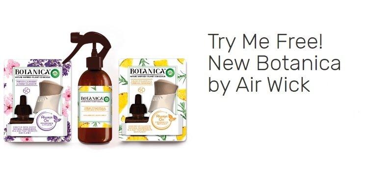 Free Botanica by Air Wick Starter Kit