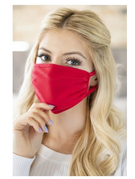 Reusable Cotton Masks (Mult. Colors) Only $7.99, Reg $19.99 + Free Shipping!