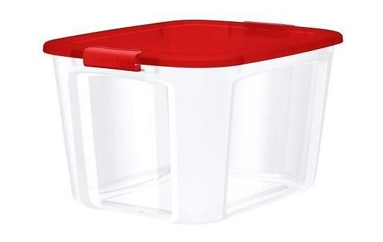 Lowes – Bella Storage Solution 18-Gallon (71-Quart) Clear Tote with Latching Lid as low as $4.79 + Free Store Pickup!