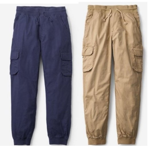 Eddie Bauer – Boys Adventurer Lined Cargo Pants (2 Colors) Only $5.99, Reg $11.98 + Free Shipping!