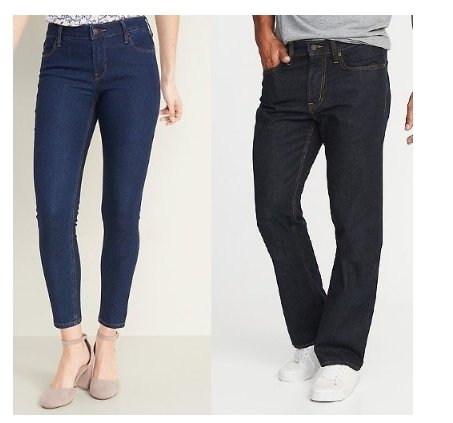 Old Navy –  $12 Adult Jeans! $10 Kid Jeans! Today Only!