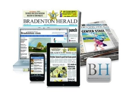 Bradenton Herald – One 52-Week Sunday Home Delivery Subscription and Full Digital Access Only $45.00, Reg $644.00