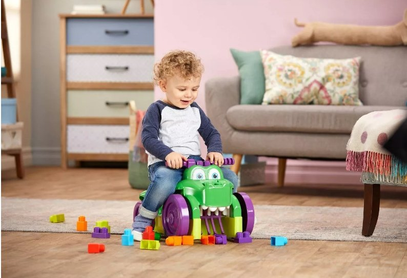 Target.com – Mega Bloks Ride 'n Chomp Croc Only $22.99, Reg $34.99 + Free Store Pickup
