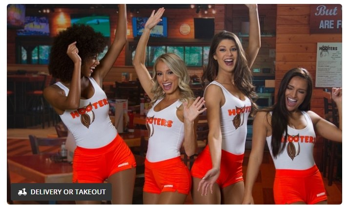 Hooters FREE $15 Off $30+ Coupon on Mobile Order