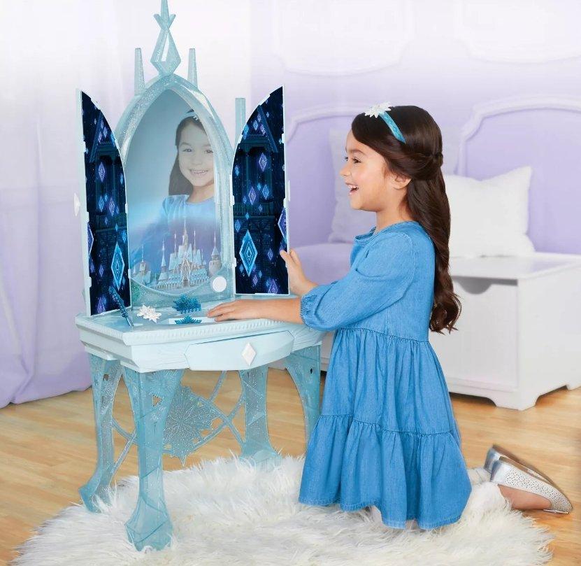Target.com – Disney Frozen 2 Elsa's Enchanted Ice Vanity Only $28, Reg $69.99 + Free Store Pickup!