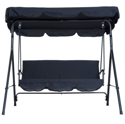 Walmart – Outdoor 3 Person Swing w/ Adjustable Top Canopy Only $142.99, Reg $285.98 + Free Shipping!