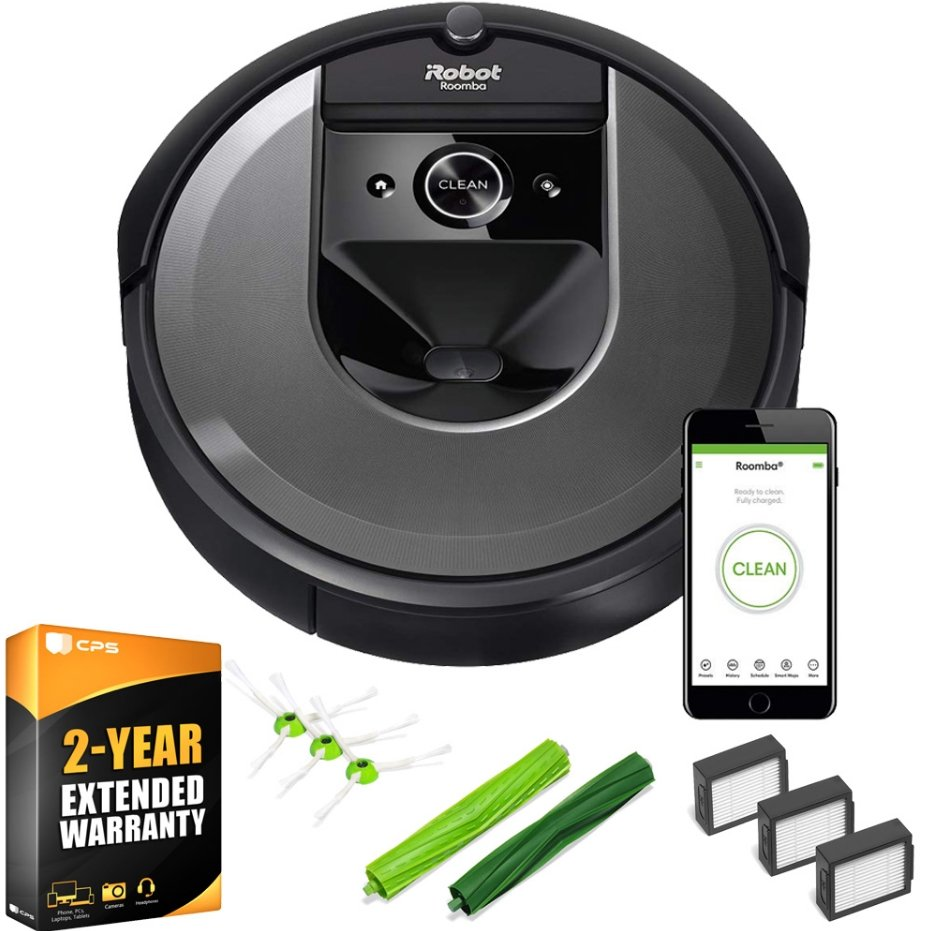 iRobot Roomba Wi-Fi Connected Vacuum with Deco Gear i7 Accessory Bundle Only $499.00, Reg $768.00 + Free Shipping!