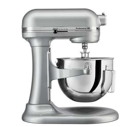 KitchenAid 5-Quart Professional HD Series Bowl-Lift Stand Mixer in Metallic Chrome Only $207.00, Reg $399.99 + Free Shipping!