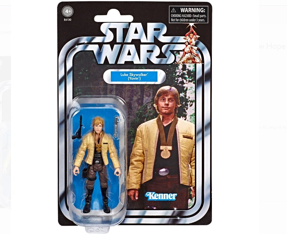 Star Wars Vintage Collection A New Hope 3.75 in Luke Skywalker Figure Only $9.87, Reg $12.93 + Free Store Pickup at Walmart!