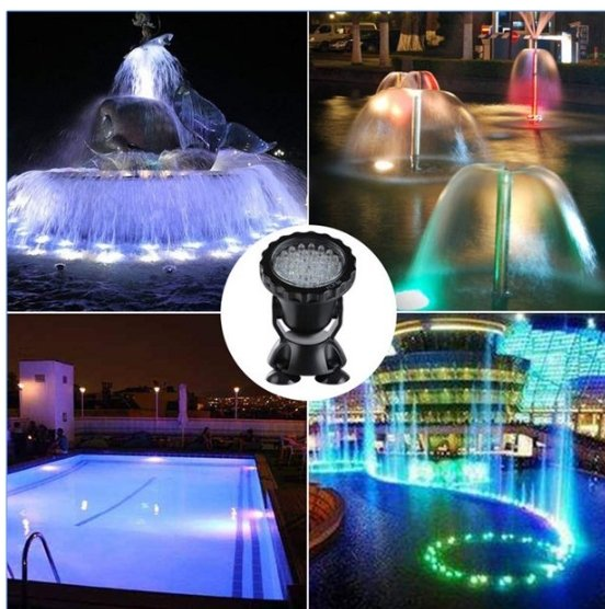 Walmart has the Walfront 36 LED Waterproof Underwater Lights (set of 4) For Your Pool, Fountain, Pond and More Only $39.93, Reg $107.99 + Free Shipping!