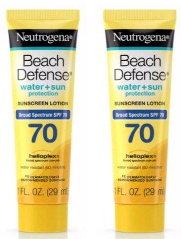 Target – 2 FREE Neutrogena Beach Sunscreen Lotions Reg $1.99 each!