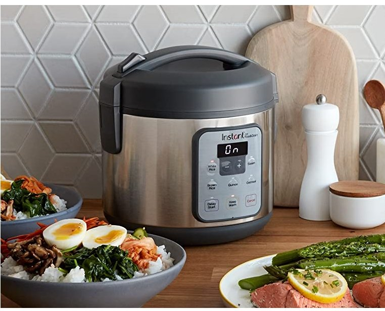 Amazon – 8 Cup Instant Zest Rice Cooker Only $29.92, Reg $60.00 + Free Shipping!