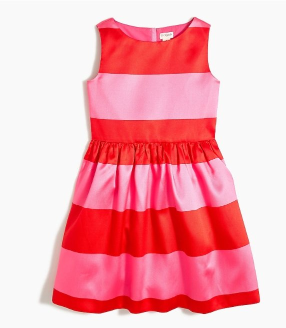 J.Crew Factory – Extra 60% Off Already Reduced Clearance Items! Girls' Sleeveless Striped Dress Only $11.25!
