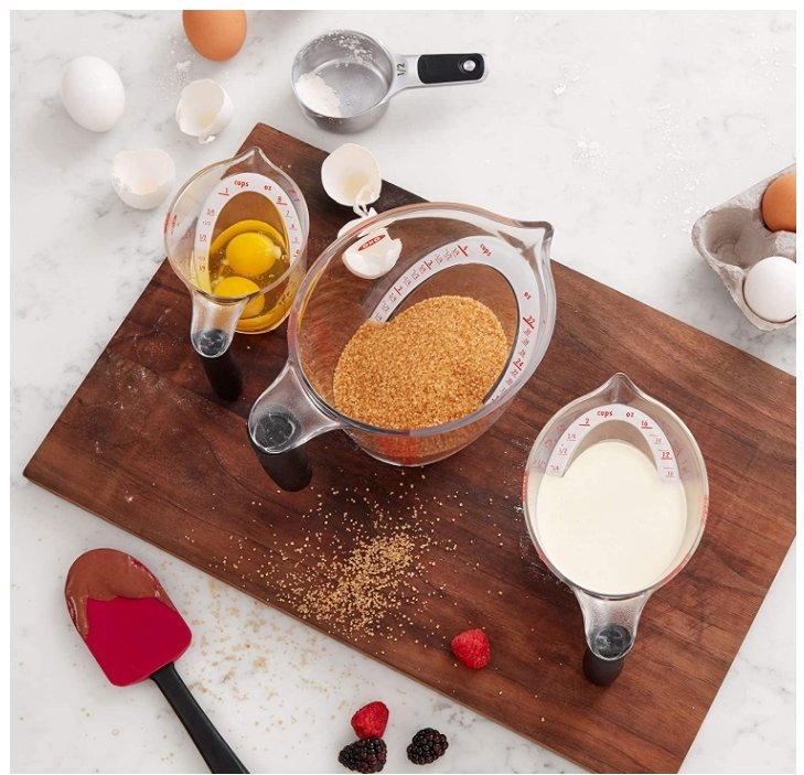Amazon – OXO Good Grips 3-Piece Measuring Cup Set Only $16.99, Reg $19.95!