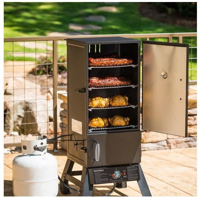 Home Depot – Today Only! Grill & Carport Sale + Free Shipping! Masterbuilt Pro Dual Fuel Smoker Only $149.00, Reg $249.00!
