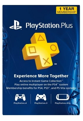 PlayStation Plus 1-Year Membership Only $29.89, Reg 59.99 + Instant Download!
