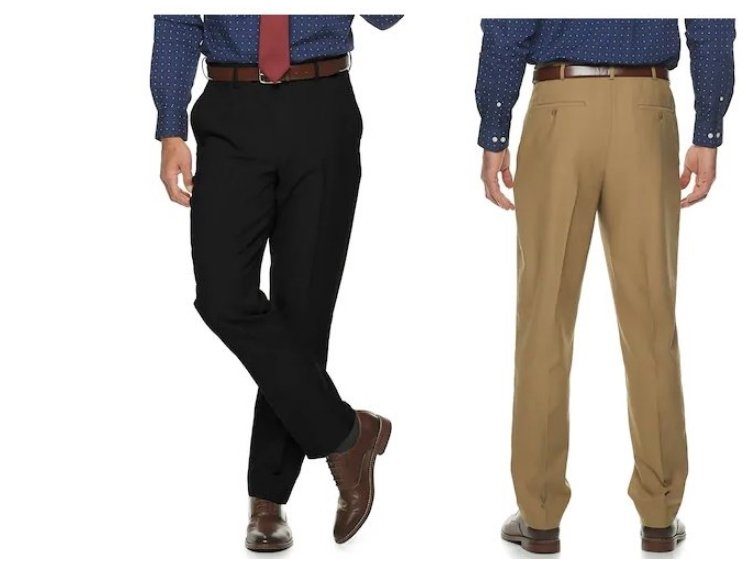 Croft & Barrow Men's Pants From $4.71, Reg $28.00 Each + Free Shipped for Kohl's Cardholders!