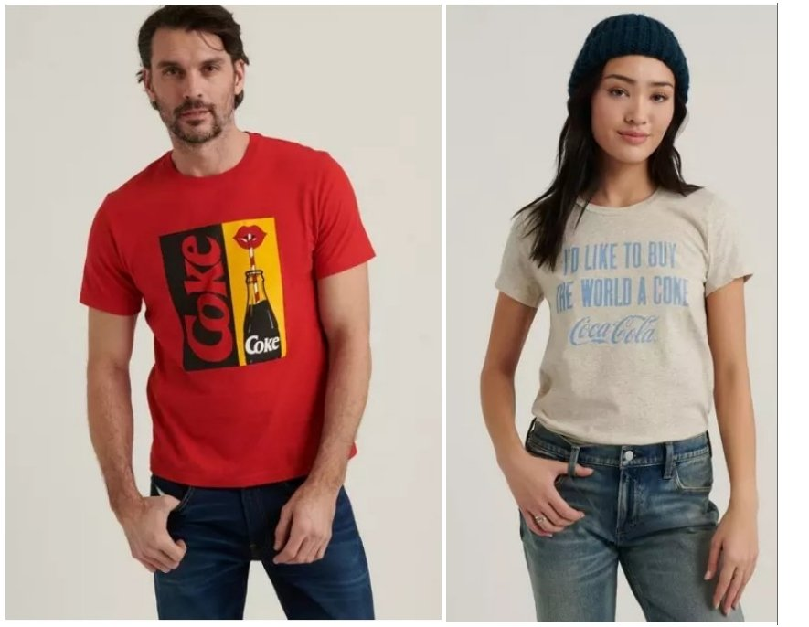 Lucky Brand – Take an Additional 50% off select Clearance Items + Free Shipping! Coke Tee's Only 4.99!