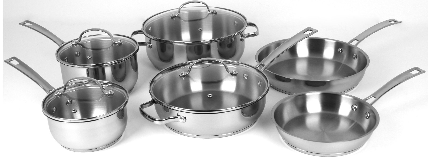 Oneida.com – Receive an Additional 20% Off Your Entire Purchase! Premium 10 Piece Stainless Steel Cookware Set Only $74.99, Reg $119.99!