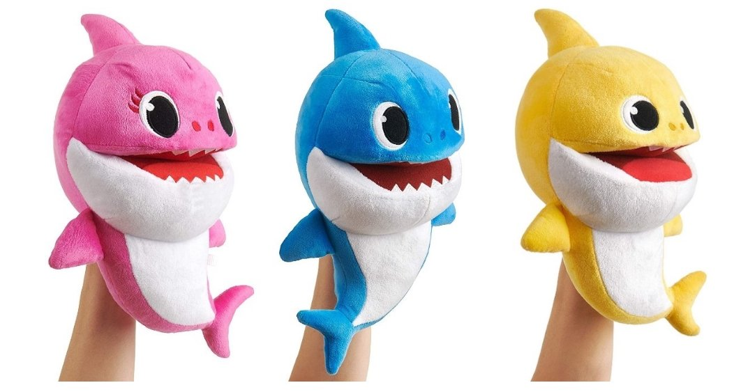 WowWee Pinkfong Baby Shark Official Song Puppet with Tempo Control (Mommy, Daddy & Baby) As Low As $10.66, Reg $19.99!