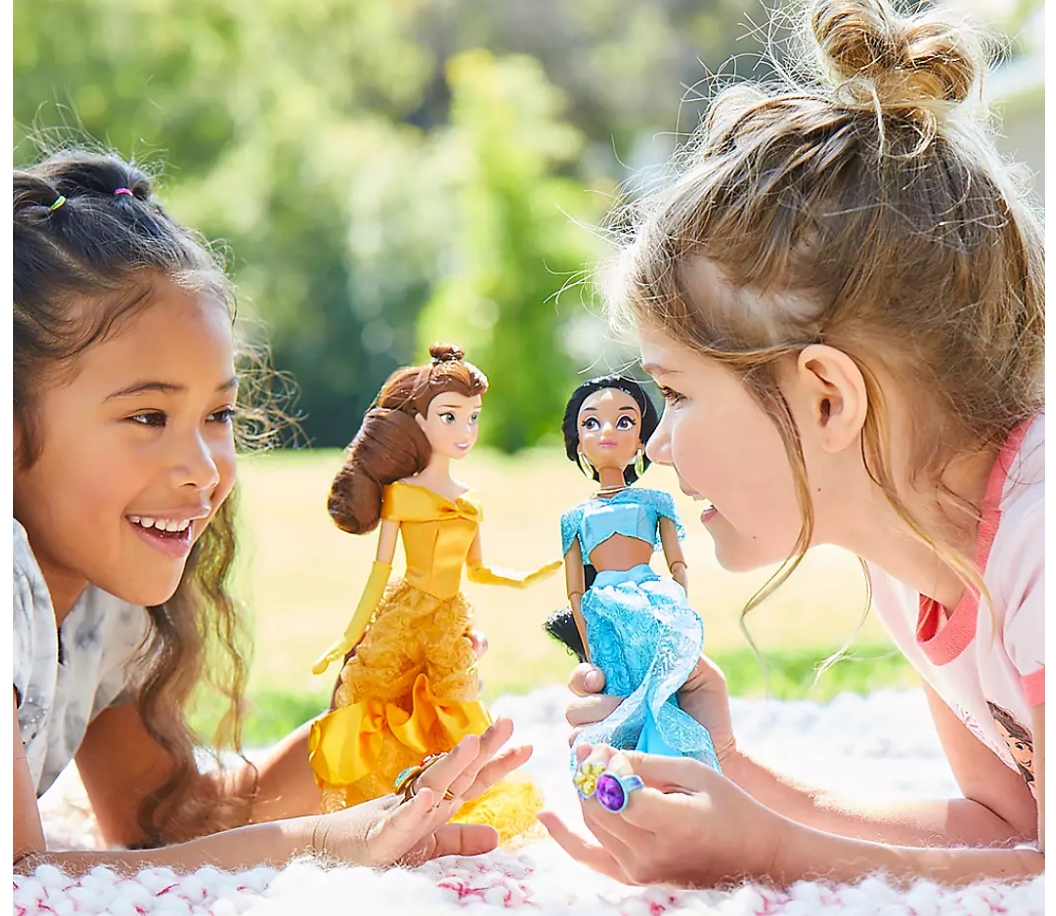 Disney Classic Dolls Only $10.00, Reg $16.00! Elsa, Anna, Snow White, Jasmine, Belle And Lots More