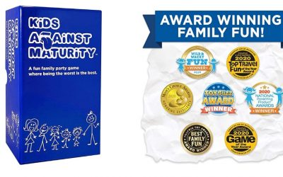 Kids Against Maturity Card Game for Kids and Families Only $29.99, Reg $39.99 + Free Shipping!