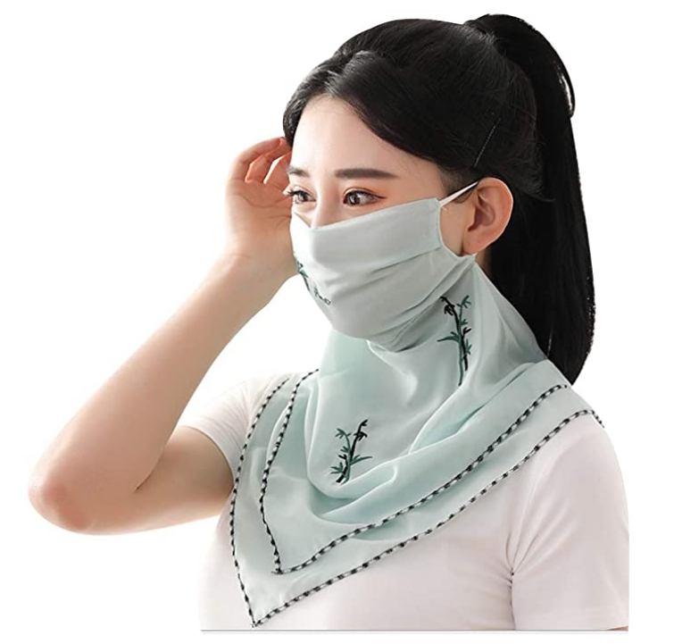 Tometc Fashion Face Scarf Cover Bandana Only $5.50, Reg $13.99! Makes A Great Face Mask!