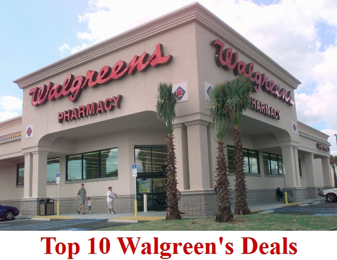 Top 10 Walgreens Deals For 4/11-4/17