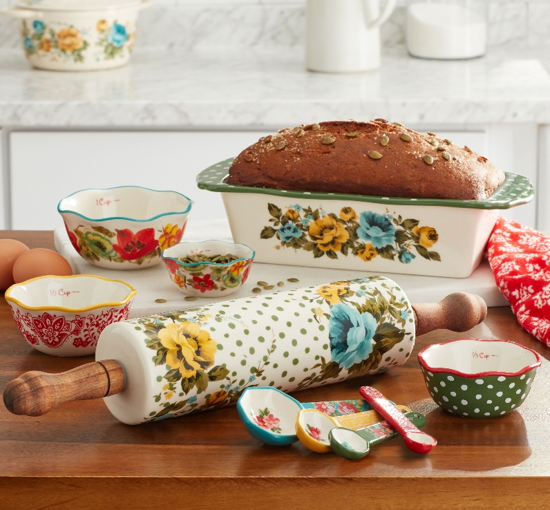 The Pioneer Woman Rose Shadow 10-Piece Bakeware Combo Set Only $34.97, Was $44.97 at Walmart