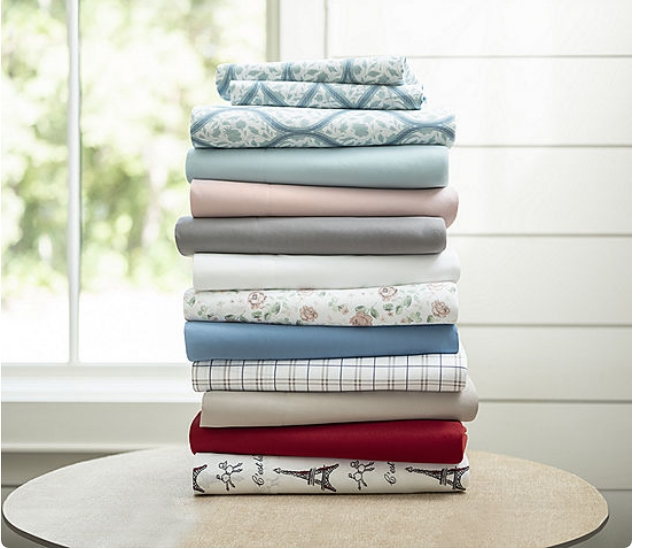 Home Expressions Ultra Soft Easy Care Wrinkle Resistant Sheet Set Only $9.74, Reg $26.00 + Free Store Pickup!