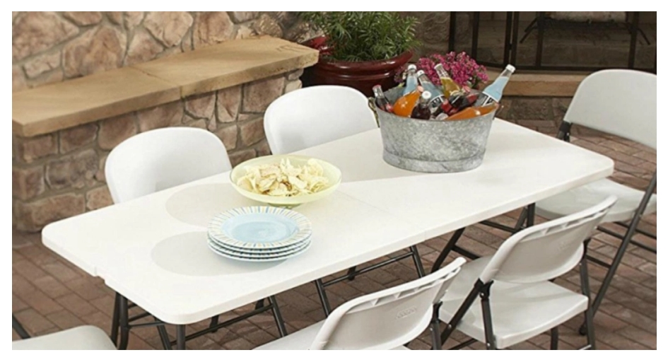 Living Accents Rectangular Fold-in-Half Table Only $29.99, Reg $34.99 + Free Store Pickup at Ace Hardware!