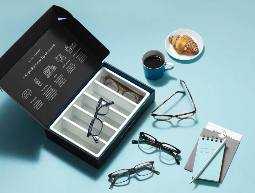 Shop For Prescription Glasses Safely From Home with Warby Parker's FREE Five-Day Home Try-On Program (Free Shipping And Returns)