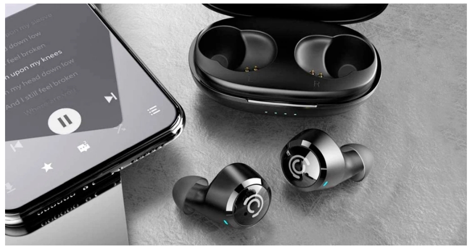 Chisana Wireless Bluetooth Earbuds with Wireless Charging Case Only $23.99 + Free Shipping at Amazon!