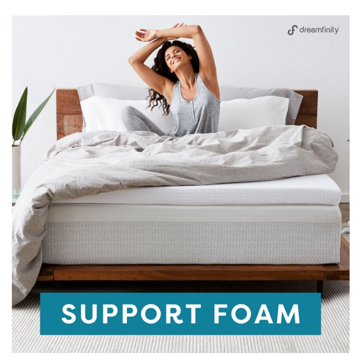 Comfort Revolution Dreamfinity 3″ Mattress Toppers Only $44.98 (Reg $78) at Sams Club!