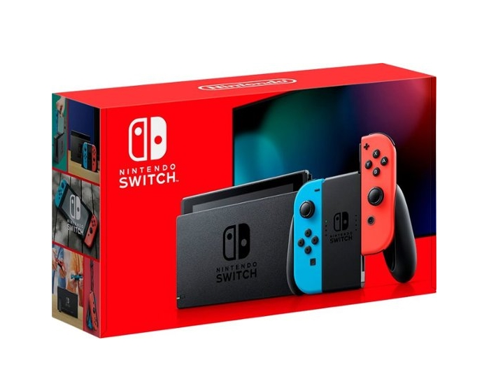 Nintendo Switch Console with Neon Red/Neon Blue Joy-Con is IN-STOCK for $299.99 at Bestbuy.com!