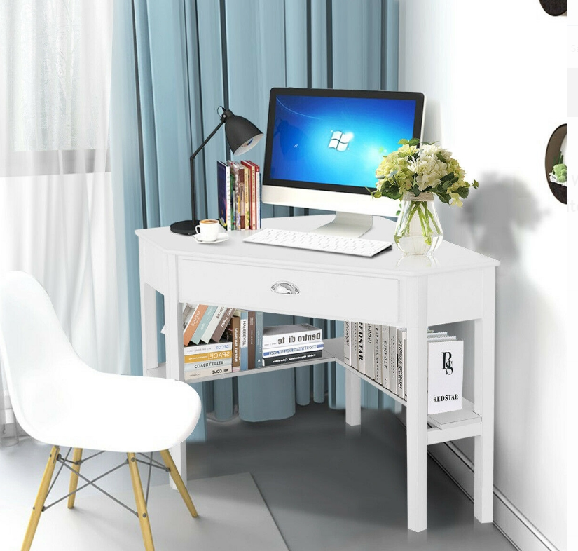 Costway Corner Computer Desk Only $174.00, Reg. $289.99 + Free Shipping at Walmart.com!