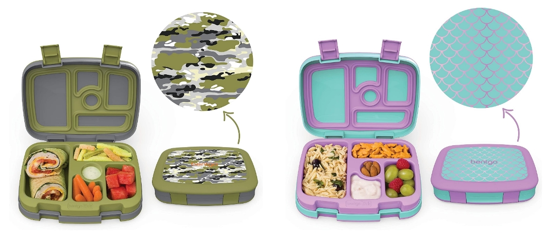 Bentgo Kids Prints Bento-Style Kids Lunch Box Only $20.99, Reg $39.99 at Amazon!