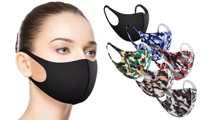 Fun Prints Reusable Fabric Face Masks (6-Pack) Only $9.99 at Groupon!