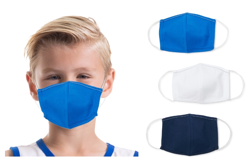 Kids' Reusable Face Masks, 3-pack Only $3.97 (Just $1.32 ea.) + Free Store Pickup!