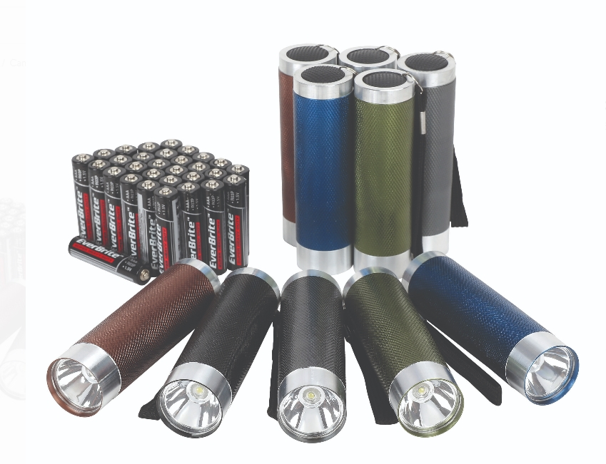 Ozark Trail 10-Pack Aluminum Flashlight Set (Batteries Included) Only $5.97 at Walmart.com + Free Store Pickup!